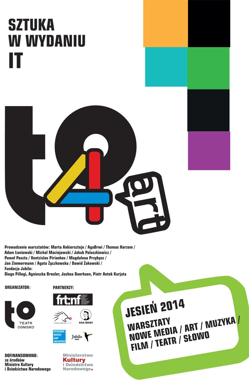Konferencja to4art - plakat