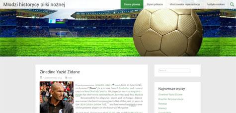 Młodzi historycy piłki nożnej