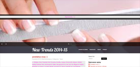 New Trends 2014-15
