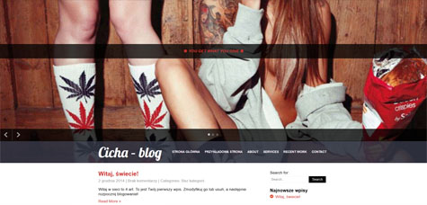 Cicha – blog